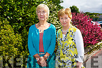 Ms Noirin De Barra and Maire Nic Mhathuna, of Gael Scoil Mhic Easmainn both retire from teaching after a total of 68 years between them