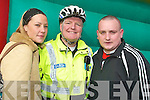 COMMUNITY SUPPORT:  Attending the Mitchel's street party on Friday afternoon were: Christina Murphy (KDYS), Jerry Quinlan (Community Garda) and John Moriarty (MY Project KDYS).    Copyright Kerry's Eye 2008