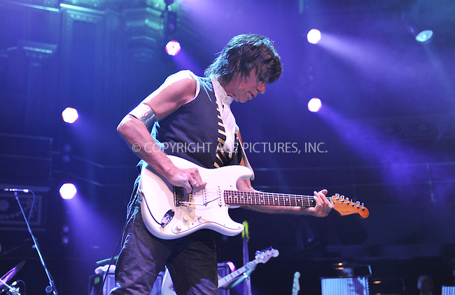 WWW.ACEPIXS.COM . . . . .  ..... . . . . US SALES ONLY . . . . .....October 26 2010, New York City....Legendary guitarist Jeff Beck performs at the Royal Albert Hall on October 26 2010 in London ....Please byline: FAMOUS-ACE PICTURES... . . . .  ....Ace Pictures, Inc:  ..Tel: (212) 243-8787..e-mail: info@acepixs.com..web: http://www.acepixs.com