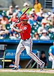 1 March 2019: Washington Nationals outfielder Michael Taylor at bat during a Spring Training game against the Miami Marlins at Roger Dean Stadium in Jupiter, Florida. The Nationals defeated the Marlins 5-4 in Grapefruit League play. Mandatory Credit: Ed Wolfstein Photo *** RAW (NEF) Image File Available ***