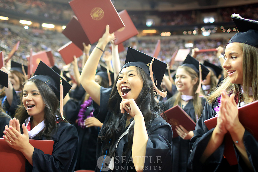 06152014- Seattle University Undergraduate Commencement 2014