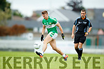 West Kerry in action against James O'Donoghue Legion in the Quarter Final of the Kerry Senior County Championship at Austin Stack Park on Sunday.