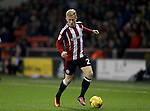 Mark Duffy of Sheffield Utd during the English League One match at Bramall Lane Stadium, Sheffield. Picture date: November 29th, 2016. Pic Simon Bellis/Sportimage