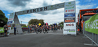 Jensen Plowright (Australia/Team BridgeLane) wins stage three of the NZ Cycle Classic UCI Oceania Tour (Martinborough circuit) in Wairarapa, New Zealand on Friday, 17 January 2020. Photo: Dave Lintott / lintottphoto.co.nz