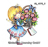 CHILDREN, KINDER, NIÑOS, paintings+++++,KL4575/5,#k#, EVERYDAY ,angel,angels ,sticker,stickers