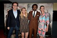Gabriel LE BOMIN, Louane EMERA, Marc ZINGA, Alexandra LAMY - Avant premiere du film ' NOS PATRIOTES ' le 6 juin 2017 - Paris - France