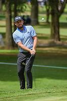 Tyrrell Hatton (ENG) chips on to 11 during round 2 of the World Golf Championships, Mexico, Club De Golf Chapultepec, Mexico City, Mexico. 2/22/2019.<br /> Picture: Golffile | Ken Murray<br /> <br /> <br /> All photo usage must carry mandatory copyright credit (© Golffile | Ken Murray)