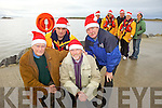 Getting ready for the annual Christmas Day Swim are members of the Tralee Bay Swim Club and RNLI Fenit Lifeboat. Pictured were: Kevin Deady, JP Brick, PJ Costello and Billy Ryle with Denis Cronin, Kevin Honeyman, Mike O'Connor, Denise Lynch and Mary Fitzsimons.