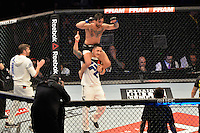 RIO DE JANEIRO, RJ, 01.08.2015 - UFC-RJ - O lutador Guido Cannetti vence Hugo Wolverine no UFC 190: Rousey vs. Correia, na HSBC Arena, na zona oeste, neste sábado (01).(Foto: João Mattos / Brazil Photo Press)