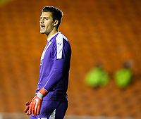 West Bromwich Albion U21&rsquo;s Jonathan Bond<br /> <br /> Photographer Alex Dodd/CameraSport<br /> <br /> The EFL Checkatrade Trophy Northern Group C - Blackpool v West Bromwich Albion U21 - Tuesday 9th October 2018 - Bloomfield Road - Blackpool<br />  <br /> World Copyright &copy; 2018 CameraSport. All rights reserved. 43 Linden Ave. Countesthorpe. Leicester. England. LE8 5PG - Tel: +44 (0) 116 277 4147 - admin@camerasport.com - www.camerasport.com