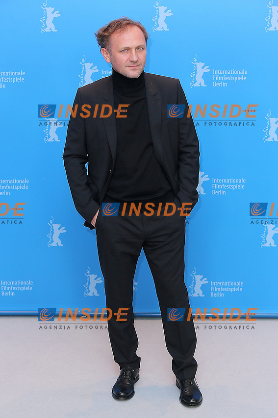 Andrzej Chyra. Berlin 08/02/2013. 63th Berlinale 'In The Name Of' photocall. foto Mark Cape/Insidefoto