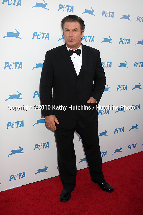LOS ANGELES - SEP 25:  Alec Baldwin arrives at the PETA 30th Anniversary Gala at Hollywood Palladium on September 25, 2010 in Los Angeles, CA