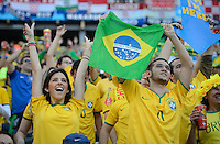 Sao Paulo, Brazil - Thursday, June 12, 2014: Opening match for the 2014 World Cup 2014 between Brazil and Croatia. Brazil won 3-1.