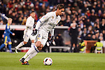 Real Madrid's Raphael Varane during Copa del Rey match between Real Madrid and Celta de Vigo at Santiago Bernabeu Stadium in Madrid, Spain. January 18, 2017. (ALTERPHOTOS/BorjaB.Hojas)