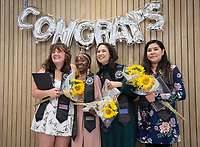 Graduating seniors, faculty and staff gather for the Indigenous Graduation Celebration, in Lower Herrick Memorial Chapel on Thursday, May 16, 2019.<br /> (Photo by Marc Campos, Occidental College Photographer)