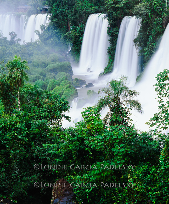 Iguazu Falls, Iguazu National Park, a  World Heritage site, Argentina,side, South America