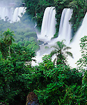 Iguazu Falls, Iguazu National Park, a  World Heritage site, Argentina,side, South America