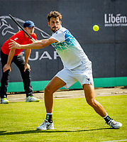 Den Bosch, Netherlands, 11 June, 2018, Tennis, Libema Open, Robin Haase (NED)<br /> Photo: Henk Koster/tennisimages.com