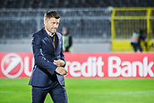 28th September 2017, Partizan Stadium, Belgrade, Serbia; UEFA Europa League group stage, Partizan versus Dynamo Kiev; Head Coach Miroslav Djukic of Partizan before the start of the match