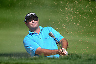 Bethesda, MD - June 28, 2014: Steven Bowditch takes a shot from the bunker on the 6th hole in Round 3 of the Quicken Loans National at the Congressional Country Club in Bethesda, MD, June 28, 2014.  (Photo by Don Baxter/Media Images International)