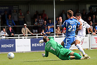 Corey Whitely of Dagenham scores the opening goal during Eastleigh vs Dagenham & Redbridge, Vanarama National League Football at the Silverlake Stadium on 12th August 2017