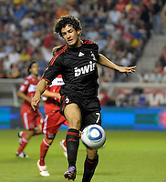 AC Milan forward Alexandre Pato (7) plays the ball.  AC Milan defeated the Chicago Fire 1-0 at Toyota Park in Bridgeview, IL on May 30, 2010.