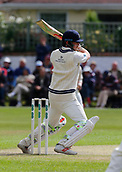 June 11th 2017, Trafalgar Road Ground, Southport, England; Specsavers County Championship Division One; Day Three; Lancashire versus Middlesex; Sam Robson of Middlesex at the crease