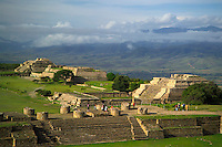Monte Alban, Mexico, October 2005. The Zapoteca ruins of Monte Alban. Mexico is a colorful country with remnants of many ancient civilisations, mixed cultures, and two oceans. Photo by Frits Meyst/Adventure4ever.com