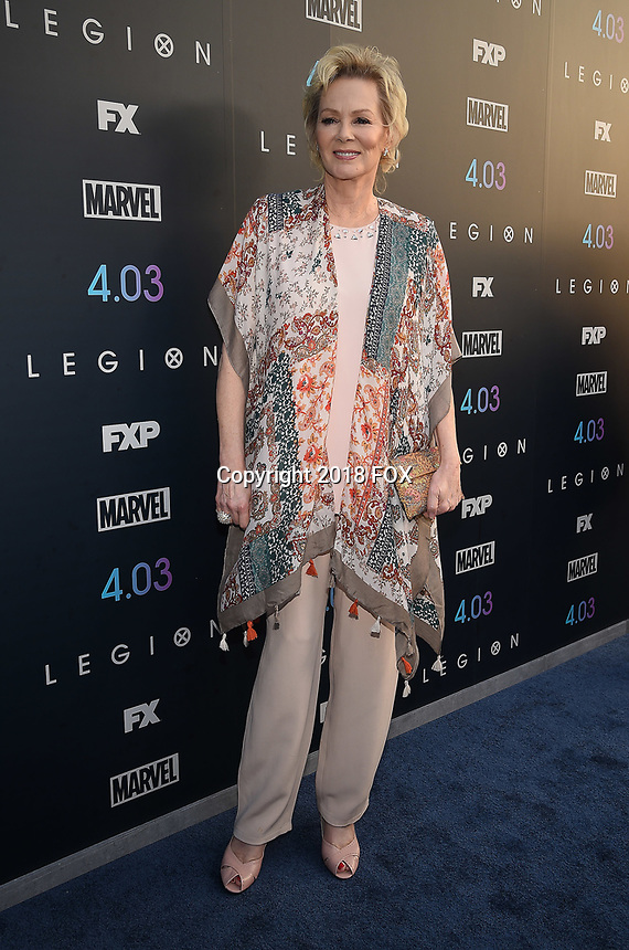 "LOS ANGELES, CA - APRIL 2: Jean Smart attends the season two premiere of FX's ""Legion"" at the DGA Theater on April 2, 2018 in Los Angeles, California. (Photo by Frank Micelotta/FX/PictureGroup)"