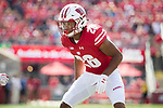 Wisconsin Badgers defensive back Eric Burrell (26) during an NCAA College Football game against the Florida Atlantic Owls Saturday, September 9, 2017, in Madison, Wis. The Badgers won 31-14. (Photo by David Stluka)