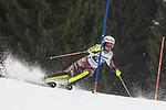 10.03.2018, Ofterschwanger Horn, Ofterschwang, GER, Slalom Weltcup in Ofterschwang, im Bild Anna Swenn Larsson (SWE, #8)<br /> <br /> Foto &copy; nordphoto / Hafner