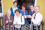 HAVE A BREW: Members of the Chernobyl Children's Fund (Tralee and District) who are holding a coffee morning on Monday, April 26th, from 9am to 12pm at the Imperial Hotel, Tralee. Pictured front l-r: Eileen O'Connor, Kay Cavanan, Joseph McCarthy (Imperial Hotel). Back l-r: Siobha?n Clear, Joan Moynihan, Sarah O'Donnell (Imperial Hotel).