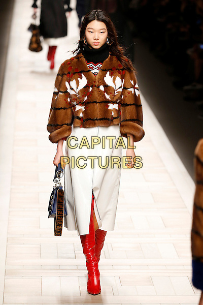 FENDI<br /> at Milan Fashion Week FW 17 18<br /> in Milan, Italy  February 2017.<br /> CAP/GOL<br /> &copy;GOL/Capital Pictures