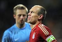 Fussball DFB Pokal:  Saison   2011/2012  Achtelfinale  20.12.2011 VfL Bochum - FC Bayern Muenchen  Arjen Robben (FC Bayern Muenchen)