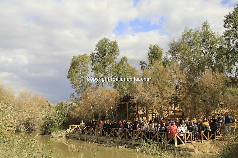 Jordan Valley, the Jordanian side of the Jordan River in Qasr al Yahud