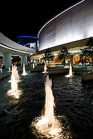The SM Mall of Asia, also known as MOA, is a shopping mall owned by the SM Group, the largest mall developer in the Philippines. Mall of Asia is the 2nd largest shopping mall in the Philippines and occupies more than 410,000 square meters. The mall is located on Manila Bay and attracts daily foot traffic of 200,000 people and even more  on weekends.