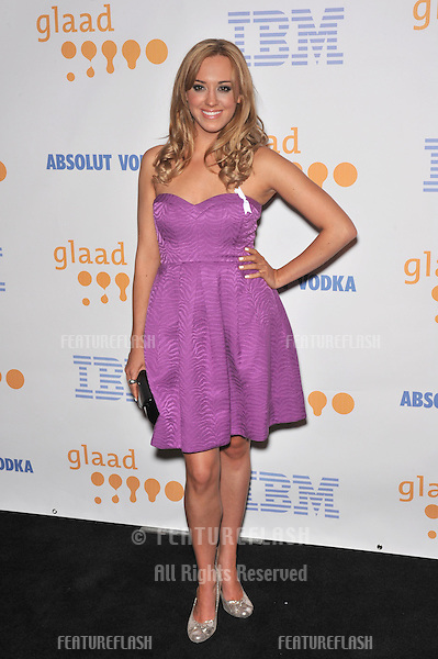 Andrea Bowen at the 20th Annual GLAAD Media Awards at the Nokia Theatre L.A. Live..April 18, 2009  Los Angeles, CA.Picture: Paul Smith / Featureflash