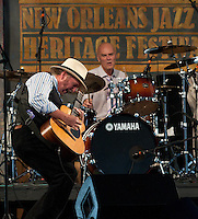 Roy Rogers playing at the 2009 Jazz and Heritage Festival in New Orleans.
