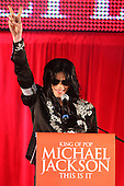 Mar 05, 2009: MICHAEL JACKSON - This Is It Press Conference - O2 Arena London