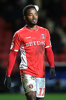 Tariqe Fosu of Charlton Athletic during Charlton Athletic vs Burton Albion, Sky Bet EFL League 1 Football at The Valley on 12th March 2019