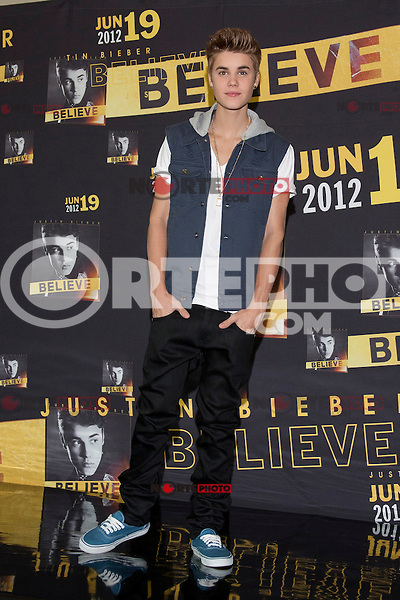 Mexico, DF (11/06/2012).-El cantante Justin Bieber en conferencia de prensa en el hotel W. KDNPIX.COM.