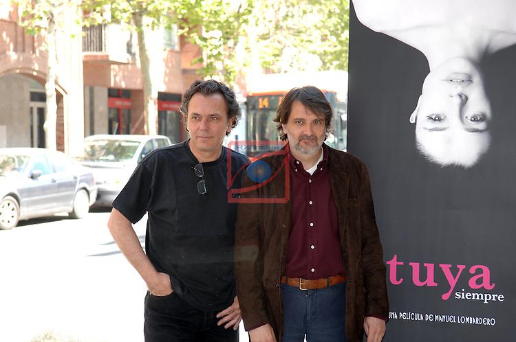Jose Coronado & Manuel Lombardero - TUYA SIEMPRE Photocall in Barcelona.