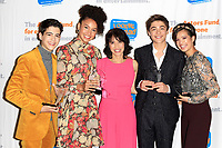 LOS ANGELES - OCT 28: Joshua Rush, Sofia Wylie, Lauren Tom, Asher Angel, Peyton Elizabeth Lee at The Actors Fund's 2018 Looking Ahead Awards at the Taglyan Complex on October, 2018 in Los Angeles, California