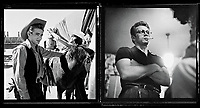 Giant (1956) <br /> Behind the scenes photo of James Dean<br /> *Filmstill - Editorial Use Only*<br /> CAP/KFS<br /> Image supplied by Capital Pictures