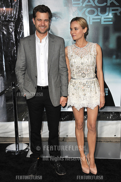 "Diane Kruger & Joshua Jackson at the Los Angeles premiere of her new movie ""Unknown"" at the Mann Village Theatre, Westwood..February 16, 2011  Los Angeles, CA.Picture: Paul Smith / Featureflash"