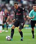 Mesut Ozil of Arsenal during the premier league match at the Britannia Stadium, Stoke. Picture date 19th August 2017. Picture credit should read: Robin Parker/Sportimage