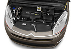 High angle engine detail of a 2010 Citroen GRAND C4 PICASSO Millenium 5 Door Minivan 2WD