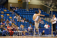 "Two foot high kick at the 2008 World Eskimo Indian Olympics held in Fairbanks, Alaska. Years ago, village messengers would jump and kick both feet into the air to inform the village that whale was caught so they could prepare themselves to help in ""beaching"" the whale."