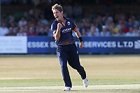 Adam Zampa of Essex celebrates taking the wicket of Tom Bruce during Essex Eagles vs Sussex Sharks, Vitality Blast T20 Cricket at The Cloudfm County Ground on 4th July 2018
