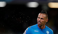 Calcio, Champions League Gruppo B: Napoli vs Benfica. Napoli, stadio San Paolo, 28 settembre 2016. <br />